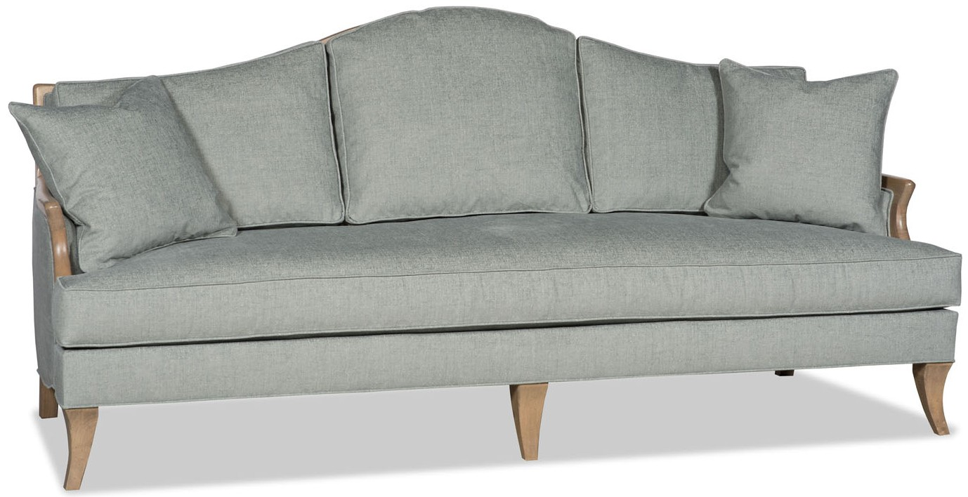 SOFA, COUCH U0026 LOVESEAT Dove Grey Sofa Curved Back