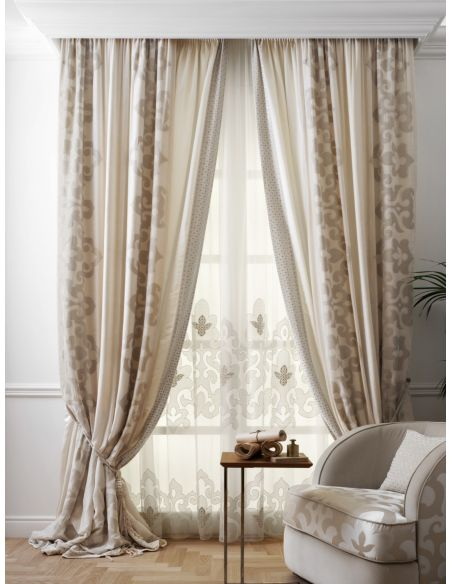 Custom Window Treatments Hand made draperies from our Masterpiece Collection. 25