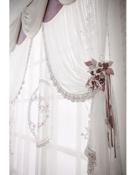 Custom Window Treatments Hand made draperies from our Masterpiece Collection. 46