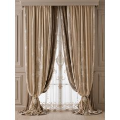 Hand made draperies from our Masterpiece Collection. 38