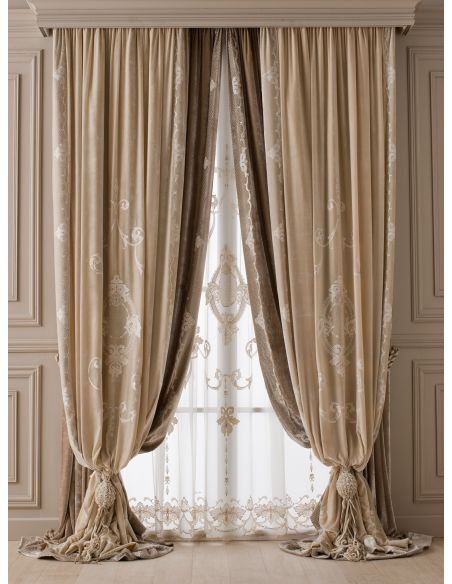Custom Window Treatments Hand made draperies from our Masterpiece Collection. 38