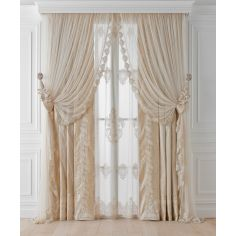 Hand made draperies from our Masterpiece Collection. 40