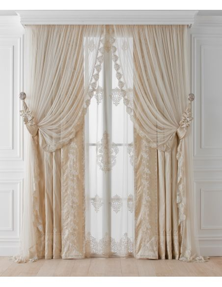 Custom Window Treatments Hand made draperies from our Masterpiece Collection. 40