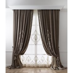 Hand made draperies from our Masterpiece Collection. 42