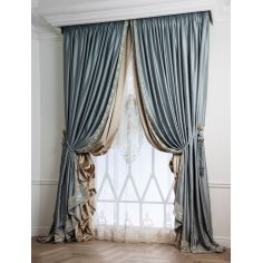 Hand made draperies from our Masterpiece Collection. 45