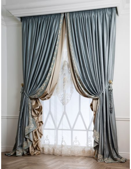 Custom Window Treatments Hand made draperies from our Masterpiece Collection. 45