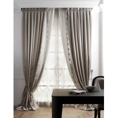 Hand made draperies from our Masterpiece Collection. 51