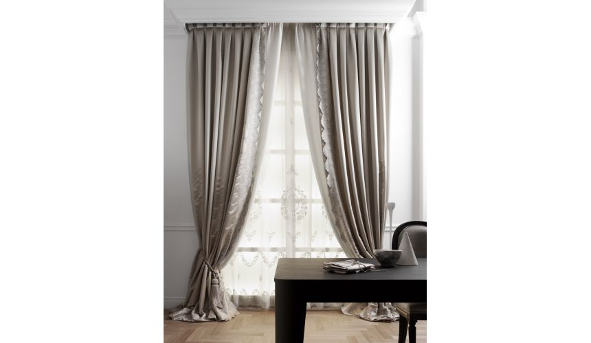 Custom Window Treatments Hand made draperies from our Masterpiece Collection. 51