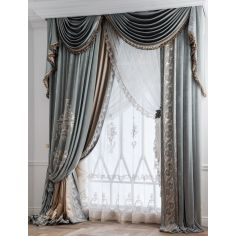 Hand made draperies from our Masterpiece Collection. 43