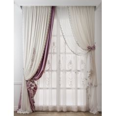 Hand made draperies from our Masterpiece Collection. 48