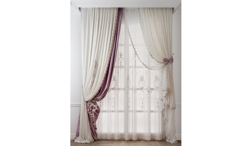 Custom Window Treatments Hand made draperies from our Masterpiece Collection. 48