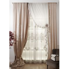 Hand made draperies from our Masterpiece Collection. 52