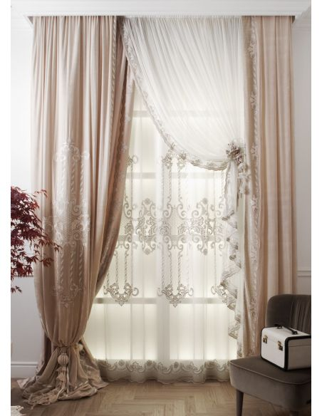 Custom Window Treatments Hand made draperies from our Masterpiece Collection. 52