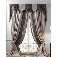 Hand made draperies from our Masterpiece Collection. 55