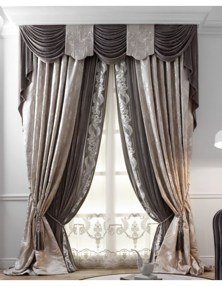 Custom Window Treatments Hand made draperies from our Masterpiece Collection. 55