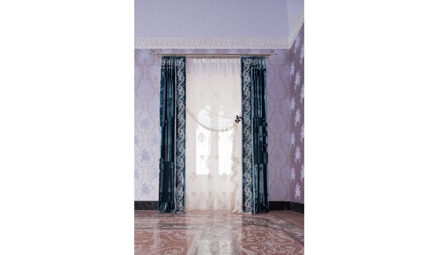 Custom Window Treatments Hand made draperies from our Masterpiece Collection. 58