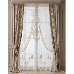 Hand made draperies from our Masterpiece Collection. 60