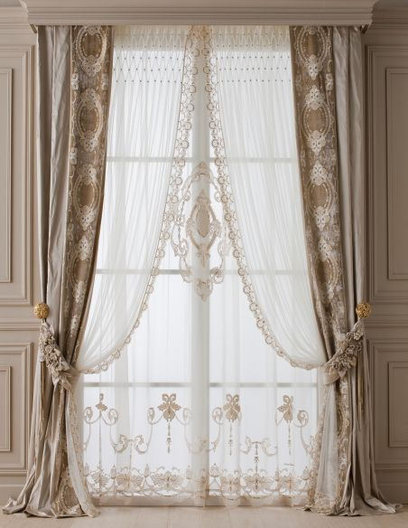 Custom Window Treatments Hand made draperies from our Masterpiece Collection. 60