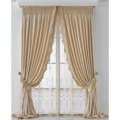 Hand made draperies from our Masterpiece Collection. 62