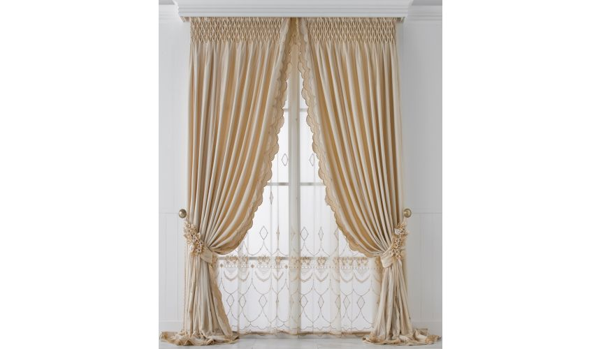 Custom Window Treatments Hand made draperies from our Masterpiece Collection. 62