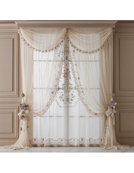 Custom Window Treatments Hand made draperies from our Masterpiece Collection. 65