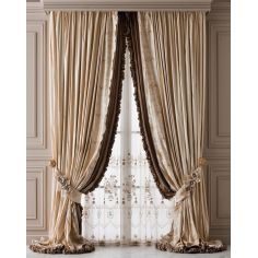 Hand made draperies from our Masterpiece Collection. 67
