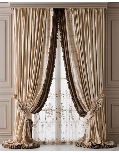 Custom Window Treatments Hand made draperies from our Masterpiece Collection. 67
