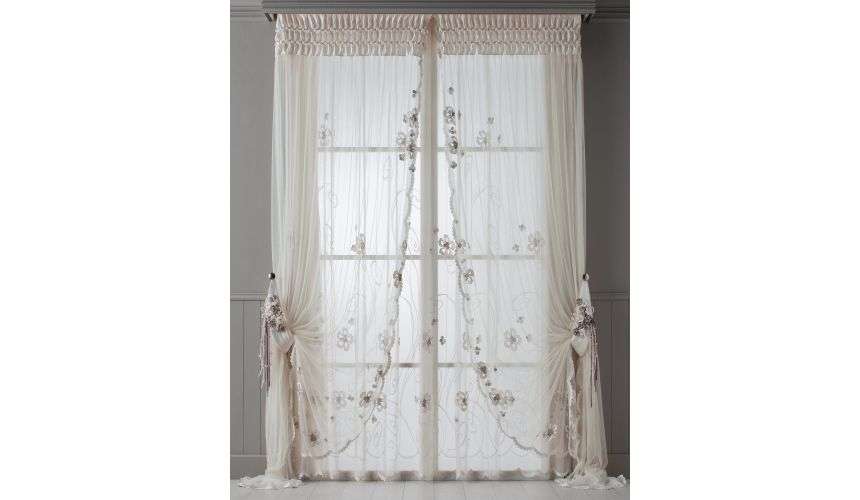 Custom Window Treatments Hand made draperies from our Masterpiece Collection. 68