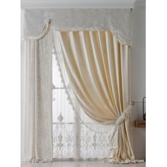 Hand made draperies from our Masterpiece Collection. 70