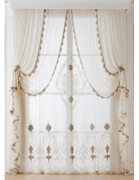Custom Window Treatments Hand made draperies from our Masterpiece Collection. 71