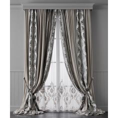Hand made draperies from our Masterpiece Collection. 78