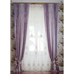 Hand made draperies from our Masterpiece Collection. 74