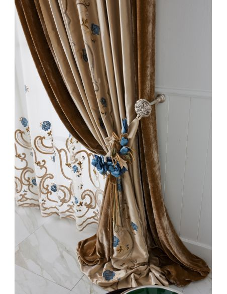 Custom Window Treatments Hand made draperies from our Masterpiece Collection. 76