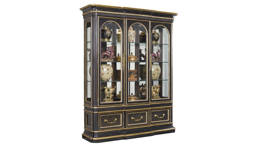 Breakfronts & China Cabinets Grand old world china or display cabinet