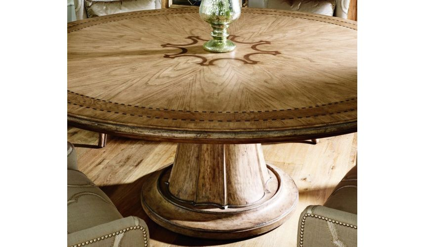 Dining Tables Stunning round dining table light color top