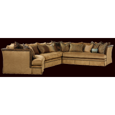 Beautiful luxury sectional sofa