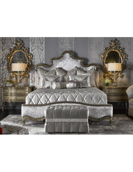 BEDS - Queen, King & California King Sizes Fancy French Royal Grand Orleans master bed