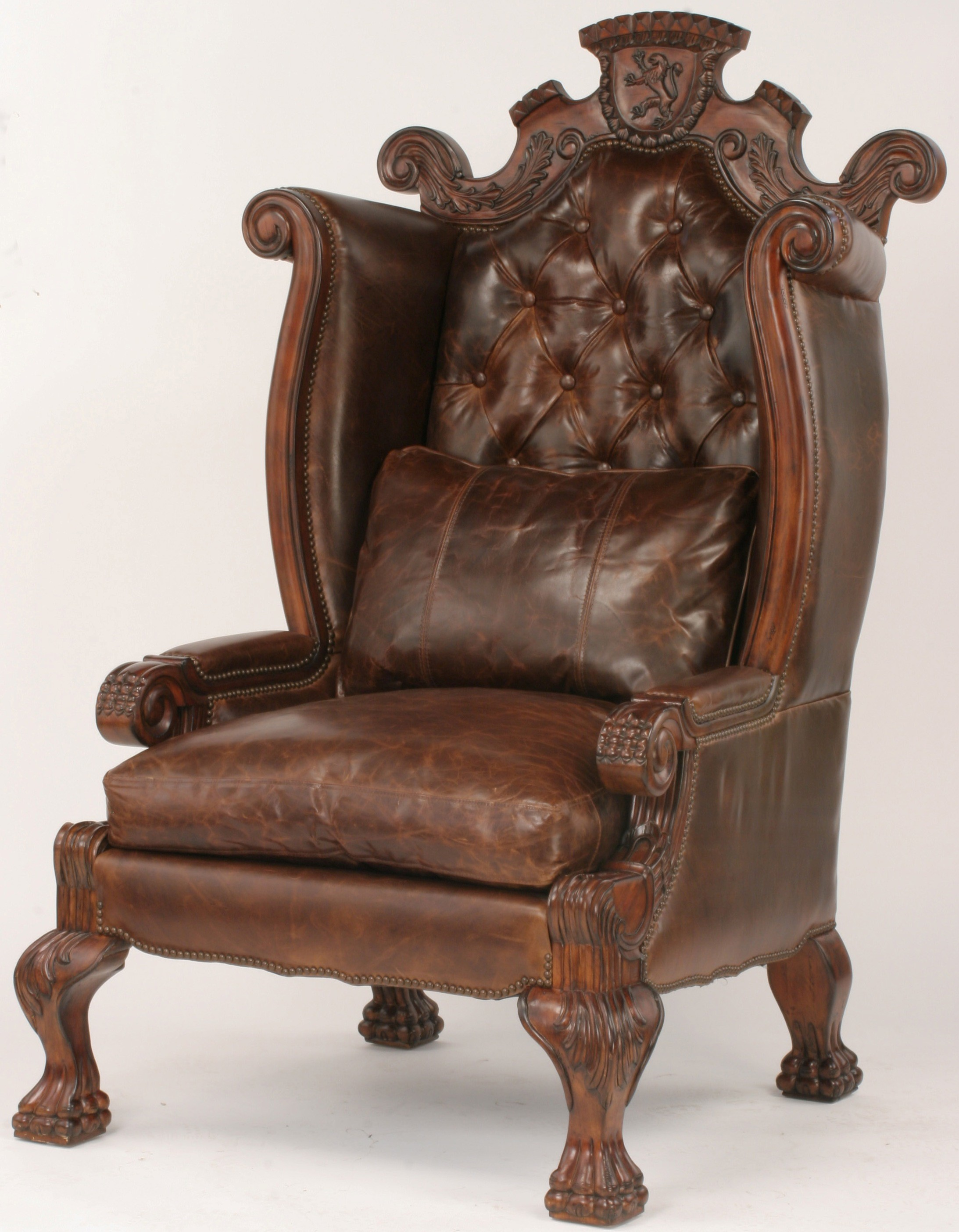 Large High Back King Of The Castle Chair