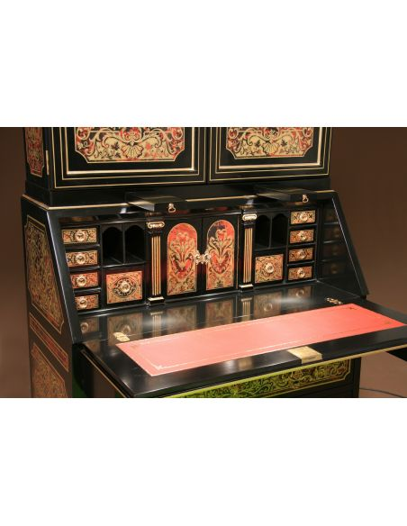 Executive Desks Luxury secretary desk with cabinet. King Louis Collection