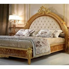 Elegant master bed from our modern day Czar collection