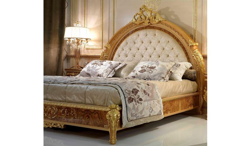 Queen and King Sized Beds Elegant master bed from our modern day Czar collection
