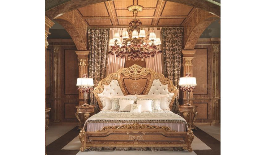 Queen and King Sized Beds Stunning master bedroom from our modern day palace collection