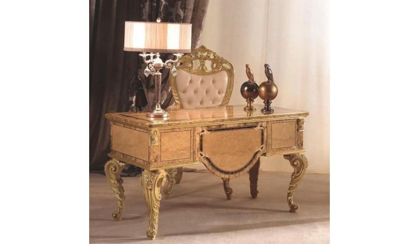 Executive Desks This stunning writing desk from our exclusive modern day palace collection