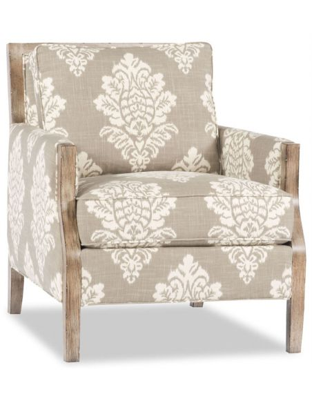 Modern Furniture Tan Jacqaurd Chair