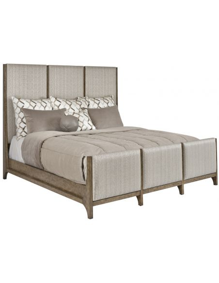 Queen and King Sized Beds Classy metropolitan designed master bed