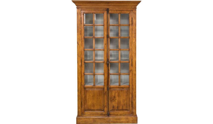 Breakfronts & China Cabinets 2 Door Display Cabinet
