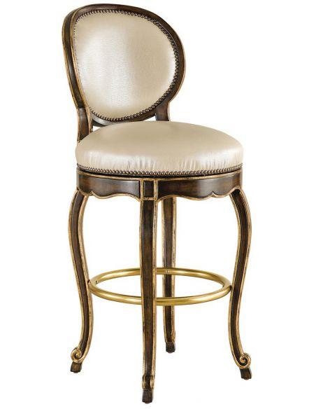 Unique Counter & Bar Stools Classic style swivel bar stool