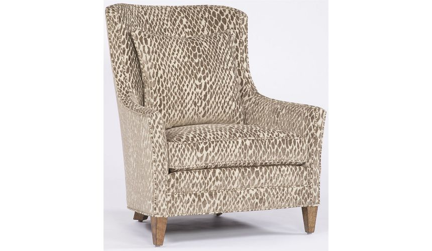 Modern Furniture Snakeskin Pattern Chair