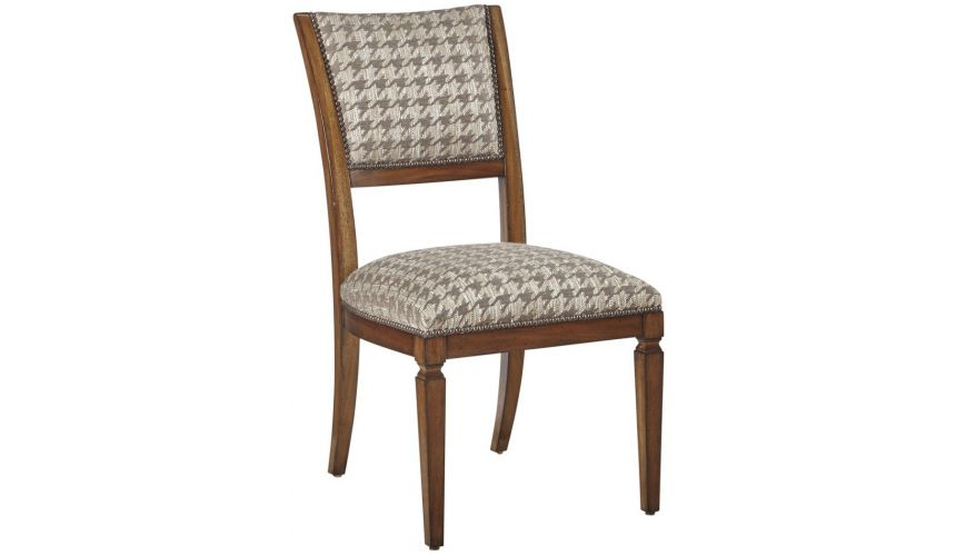 Dining Chairs Exquisite Houndstooth Patterned Dining Chair from our modern Dakota collection DCA47