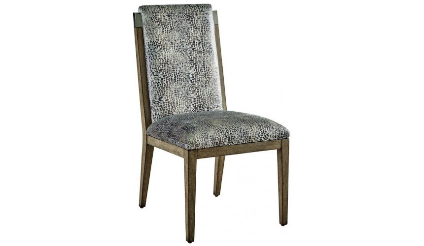 Dining Chairs Lavish Rustic Dining Chair from our modern Dakota collection DHA47